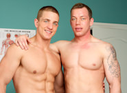 On The Set - Marcus Mojo & Adam Hardy