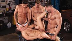 Body Shop : Erik Rhodes, Landon Conrad, Marc Dylan, Trenton Ducati