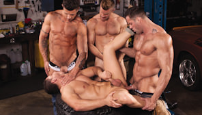Body Shop : Erik Rhodes, Landon Conrad, Marc Dylan, Trenton Ducati