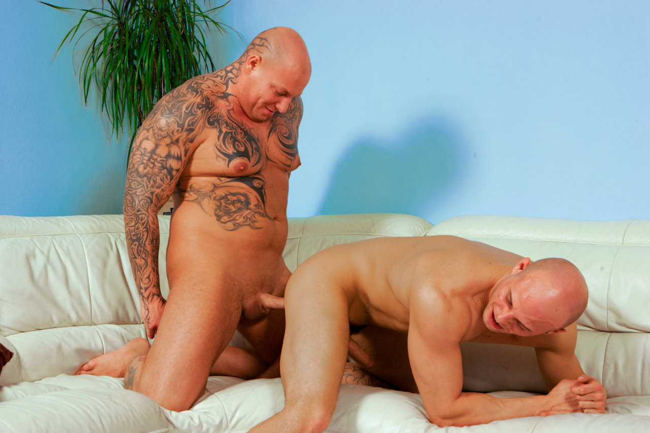 Gay Orgy GroupSex : Breeding Joe Justice - Devil -amp; Joe Justice!