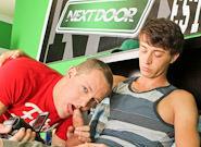 Gay Twinks Sex : Home videoclip - Trevor Laster -amp; Dane Riley!