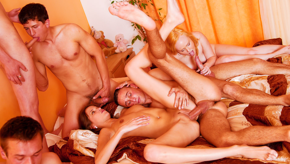 Teen Bisexual Gay Seduce Orgy