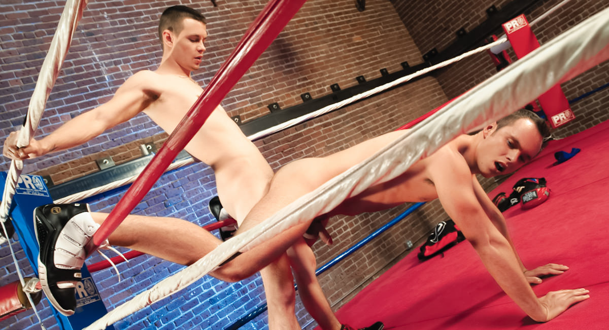 Gay Amateur Sex : Knockouts And Takedowns - Michael Keys -amp; Devin Adams!