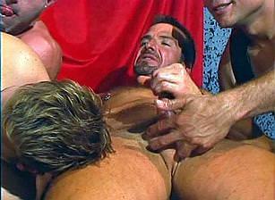 Leather Daddies Gang Banging Brad Benton, Scene #04