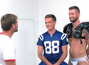 Post Game Analysis - Troy & Lucas - Dildo Fuck