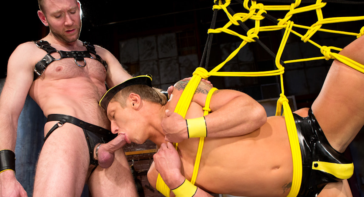 Gay Orgy GroupSex : The Sub - Phillip Aubrey -amp; Rick Van Sant!