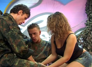 Bareback Bisex Soldiers #02, Scene #04