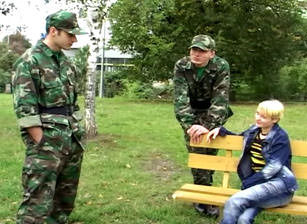 Bi Military Sexpots, Scene #03