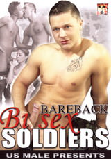 Bareback Bisex Soldiers Dvd Cover