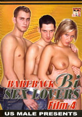 Bareback Bi Sex Lovers #04 Dvd Cover