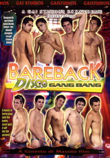 Bareback Disco Gang Bang Dvd Cover