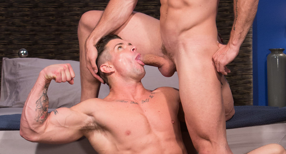 Gay Orgy GroupSex : Angelo and Trenton Ducati - Angelo -amp; Trenton Ducati!