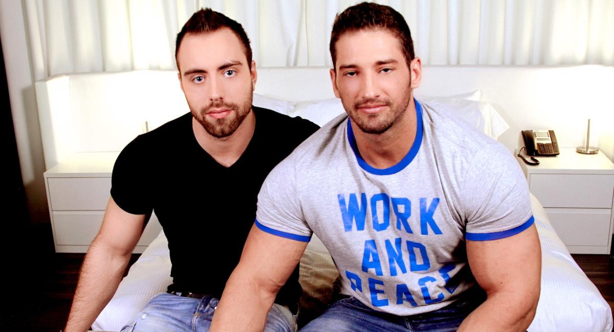 Gay Mature Men : Pushing Back Ones Limits - Alec Leduc -amp; Christian Power!