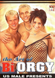 The Art Of Bi Orgy DVD Cover