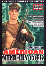 Celebrating American Military Cock #01