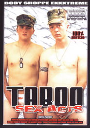 Taboo Sex Acts #01 DVD Cover
