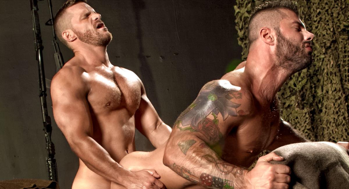 Raging Stallion: Landon Conrad & Alex Marte - Militia