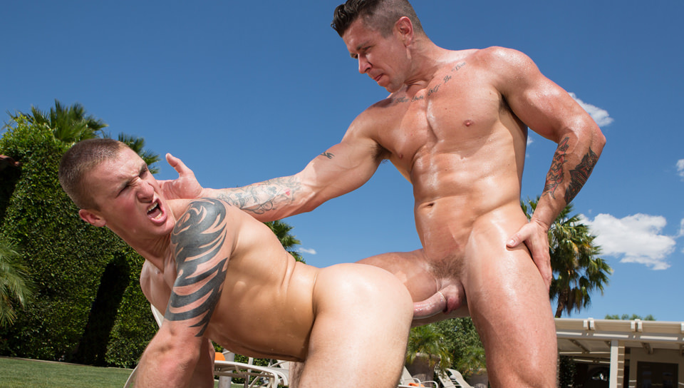 Gay Orgy GroupSex : Heatstroke - Trenton Ducati -amp; Connor Kline!