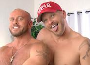 Gay Anal Porn : Matt Stevens And Jeremy Stevens Backstage - Joe Parker -amp; Matt Stevens -amp; Jeremy Stevens!