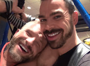 Gay Muscle Men : Post Game Analysis - Dolan Wolf And Dirk Caber - Cum Shot - Dirk Caber -amp; Dolan Wolf!