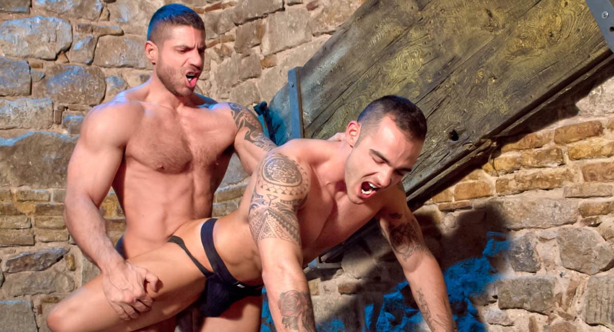 Raging Stallion: Part 2 - Adrian Toledo & Axel Brooks - Sexo In Barcelona