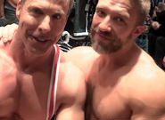 Gay Muscle Men : Post Game Analysis - Derek -amp; Dirk - Dirk Caber -amp; Derek Pain!