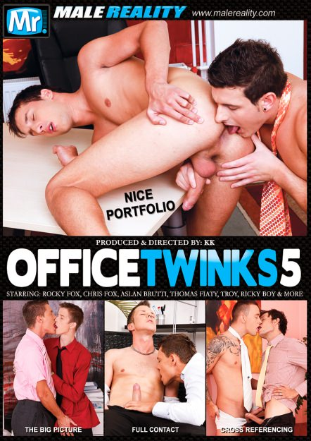 Office Twinks #05 DVD Cover