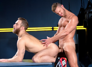 Cock Fight! Match 1 : Shawn Wolfe, Landon Conrad