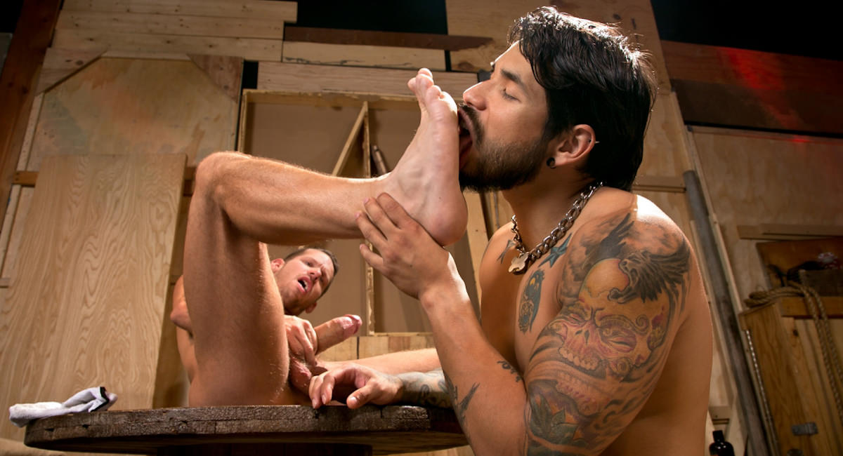 Fetish Force: Draven Torres & Shane Frost - Warehouse Kinks