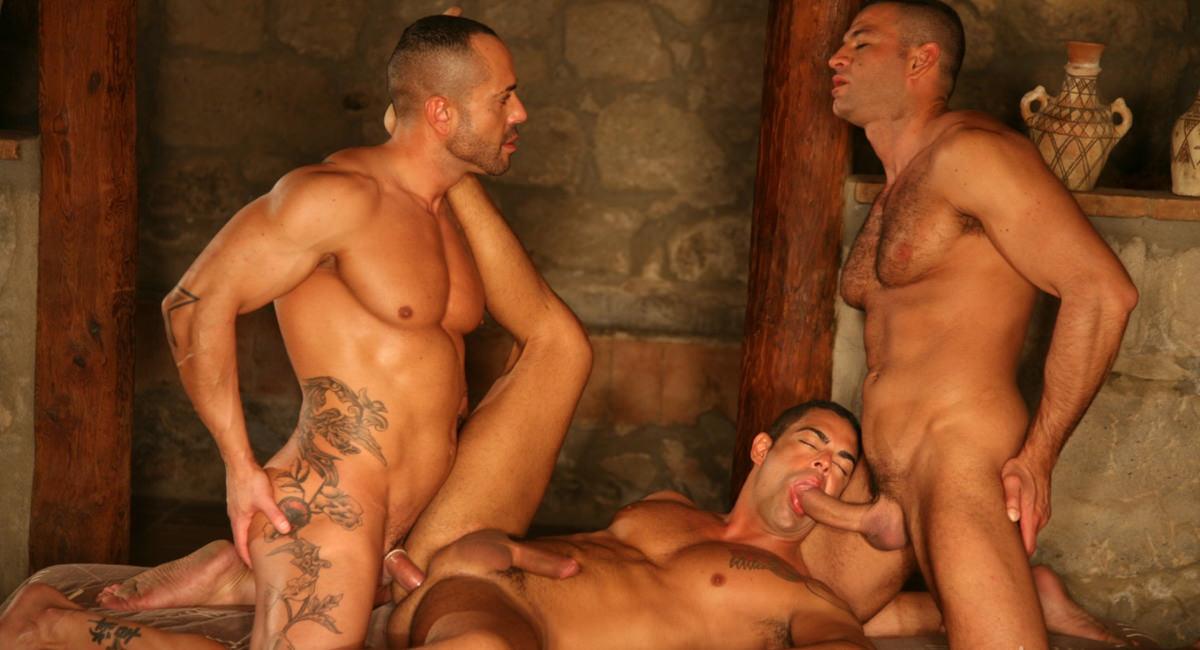 Raging Stallion: Horns of Plenty, Part 2: Dennis D'Nello, Marco Salgueiro & Ruben Rodriguez