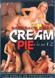 Bareback Bisex Cream Pie #12 DVD Cover