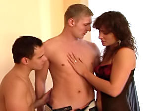 Bareback Bisex Cream Pie #13, Scene #03