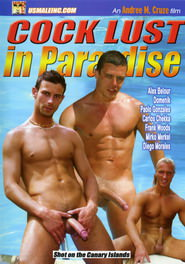 Cock Lust In Paradise DVD Cover