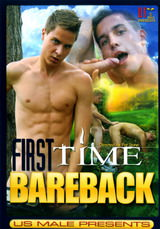 First Time Bareback Dvd Cover