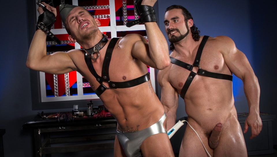 Anal porn BDSM porn Boots porn Jerk Off porn Gay Porn for iPad featuring Alexander Gustavo, Jaxton Wheeler naked