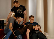 Mason Wyler, Jake Steel, Brandon Bangs & David Stone