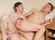 Big Dicked Hunks, Scene #01