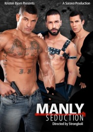 Manly Seduction - Insurance Man DVD Cover