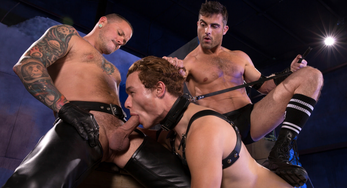 Fetish Force: Lance Hart, Micky Mackenzie & Max Cameron - Pig Puppy