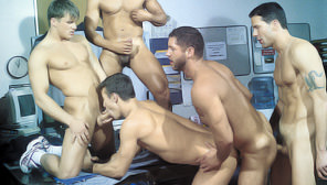 Serviced : Marcus Iron, Karl Tenner, Nicholas Clay, Fernando Montana, Blake Harper