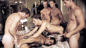 Sprung : Clint Cooper, Bryce London, Cameron Fox, Kevin Miles, Jacob Wood