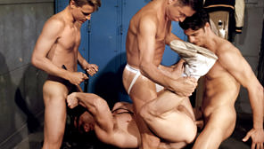 The Coach's Boys : Scott Davis, Scott Hardman, Steve Maverick, Damien