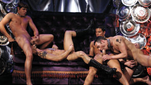 Heaven To Hell : Colby Taylor, Roman Heart, Dean Monroe, Tristan Adonis
