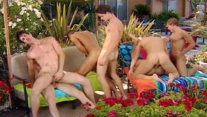 Dripping Wet : Leo St. Phillip, Ashton Star, Cole Ryan, Nicholas Lockwood, Logan Robbins, Eddie Stone, Josh Dobrich