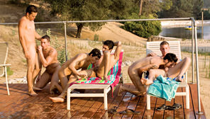 Road Trip, Vol. 6 - Temptation Ranch : Ridge Michaels, David West, Nick Cross, Jared, Lee Stephens