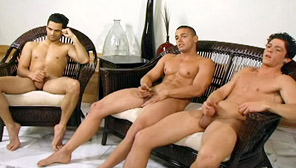 Skylar, Paul & Brad - Circle Jerk : Skylar, Paul, Brad