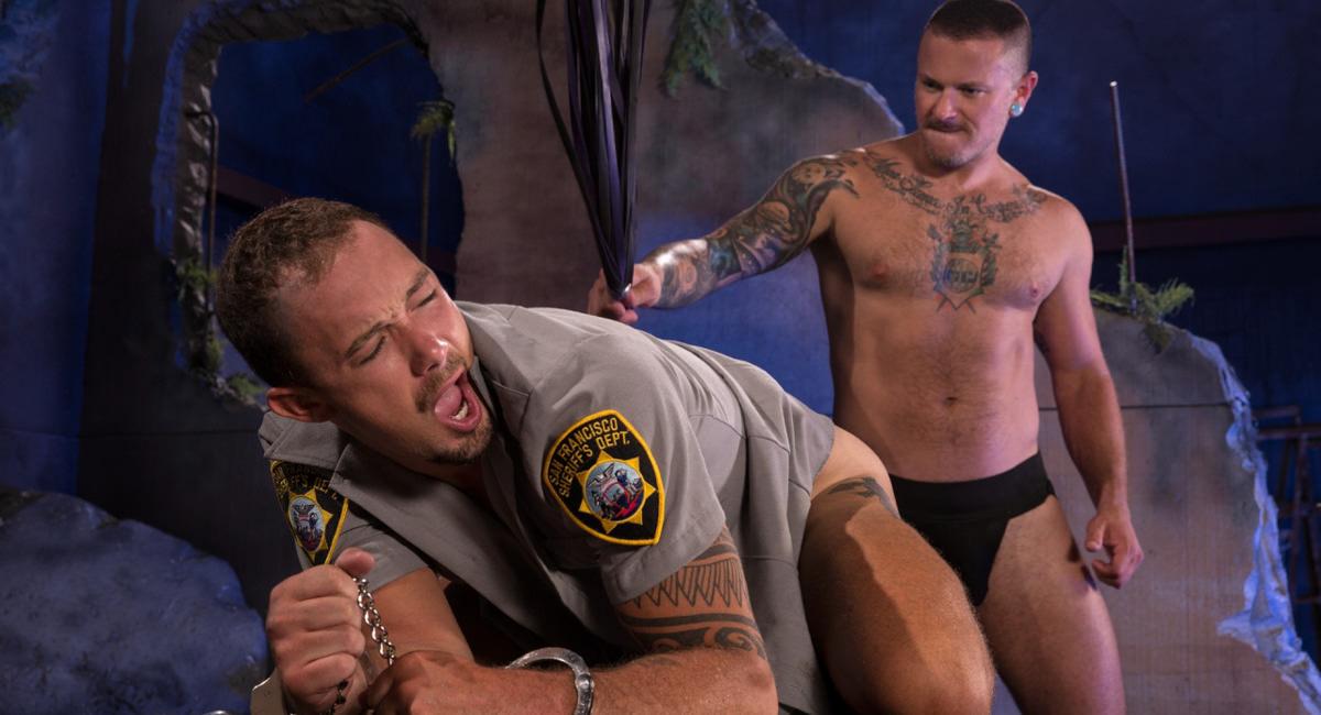 Fetish Force: Max Cameron & Kirk Cummings - Cops In Cuffs