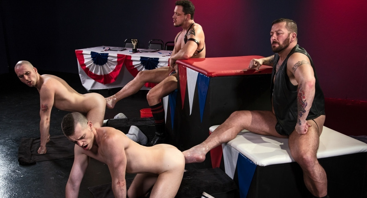 Club Inferno: Hugh Hunter, Axel Abysse, Joey D & Sam Syron - World Series of Fisting
