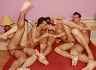 What An Orgy #01, Scene #01
