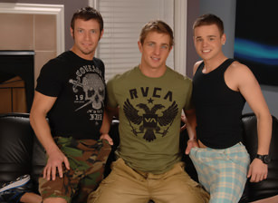 On The Set - Marcus, Kevin Crows & Joey Hard
